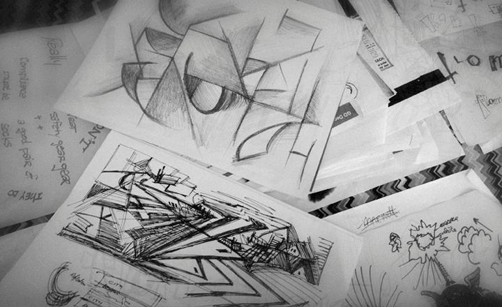 flomm sketch pile!